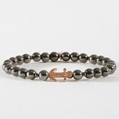 /achat-bracelets/icon-brand-bracelet-anchorage-gris-dore-182515.html