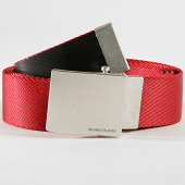 /achat-ceintures/calvin-klein-ceinture-military-4685-rouge-182447.html