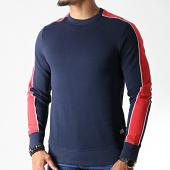 /achat-sweats-col-rond-crewneck/produkt-sweat-crewneck-a-bandes-viy-will-bleu-marine-182468.html