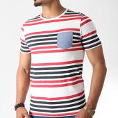 /achat-t-shirts-poche/produkt-tee-shirt-gms-twin-ecru-rouge-noir-182481.html