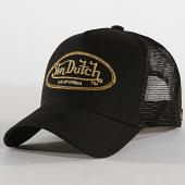 /achat-trucker/von-dutch-casquette-trucker-lbo-noir-dore-182492.html