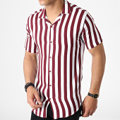 /achat-chemises-manches-courtes/classic-series-chemise-manches-courtes-a-rayures-4003-blanc-bordeaux-182858.html
