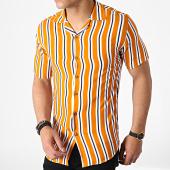 /achat-chemises-manches-courtes/classic-series-chemise-manches-courtes-a-rayures-4005-orange-blanc-bleu-marine-182860.html