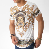 /achat-t-shirts-longs-oversize/classic-series-tee-shirt-oversize-renaissance-aj921-blanc-dore-182888.html
