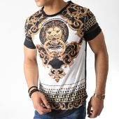 /achat-t-shirts-longs-oversize/classic-series-tee-shirt-oversize-renaissance-aj921-noir-dore-blanc-182889.html