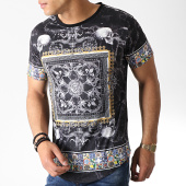 /achat-t-shirts-longs-oversize/classic-series-tee-shirt-oversize-renaissance-aj975-noir-182890.html