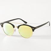 /achat-lunettes-de-soleil/masterdis-lunettes-de-soleil-femme-april-11011-jaune-dore-noir-182631.html