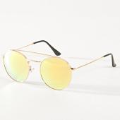 /achat-lunettes-de-soleil/masterdis-lunettes-de-soleil-femme-august-11012-jaune-dore-noir-182634.html