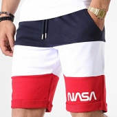 /achat-shorts-jogging/nasa-short-jogging-worm-logo-tricolore-bleu-marine-blanc-rouge-182841.html