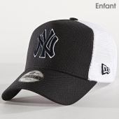 /achat-trucker/new-era-casquette-trucker-enfant-9forty-diamond-era-new-york-yankees-bleu-marine-blanc-182725.html