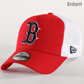 /achat-trucker/new-era-casquette-enfant-9forty-diamond-era-boston-red-sox-rouge-blanc-182726.html