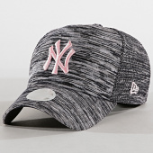 c8b29067844 New Era - Casquette Femme 9Twenty Engineered Fit New York Yankees Noir Chiné