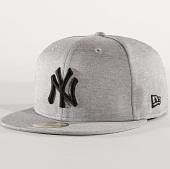 1e5017e276022 New Era - Casquette 59Fifty Shadow Tech New York Yankees Gris Chiné