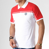 /achat-polos-manches-courtes/sergio-tacchini-polo-manches-courtes-young-line-37177-blanc-rouge-182687.html