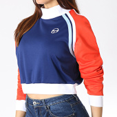 /achat-pulls/sergio-tacchini-sweat-col-montant-femme-claire-38199-bleu-marine-blanc-rouge-182690.html