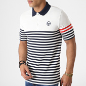/achat-polos-manches-courtes/sergio-tacchini-polo-manches-courtes-a-rayures-cooper-38061-ecru-bleu-marine-rouge-182695.html