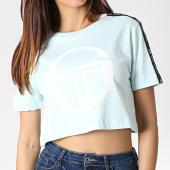 /achat-t-shirts/sergio-tacchini-tee-shirt-crop-femme-a-bandes-romina-38068-vert-menthe-182769.html