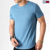 /achat-t-shirts/tommy-hilfiger-jeans-tee-shirt-essential-jaspe-4792-bleu-marine-chine-182808.html