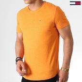 /achat-t-shirts/tommy-hilfiger-jeans--tee-shirt-essential-jaspe-4792-orange-chine-182810.html