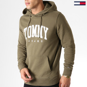 /achat-sweats-capuche/tommy-jeans-sweat-capuche-essential-tommy-6590-vert-kaki-182834.html