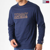 /achat-t-shirts-manches-longues/tommy-hilfiger-jeans-tee-shirt-manches-longues-contoured-corp-6858-bleu-marine-182842.html
