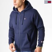 /achat-sweats-zippes-capuche/tommy-hilfiger-jeans-sweat-zippe-capuche-tommy-classics-6866-bleu-marine-182847.html