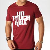 /achat-t-shirts/untouchable-tee-shirt-logo-bordeaux-blanc-182816.html