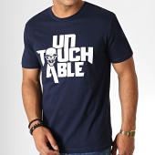 /achat-t-shirts/untouchable-tee-shirt-logo-bleu-marine-blanc-182819.html
