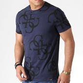/achat-t-shirts/guess-tee-shirt-m93i17j1300-bleu-marine-noir-182943.html