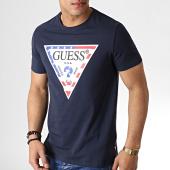 /achat-t-shirts/guess-tee-shirt-m93i21j1300-bleu-marine-182970.html