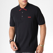 /achat-polos-manches-courtes/hugo-by-hugo-boss-polo-manches-courtes-reverse-logo-dyler-50410892-noir-rouge-182904.html