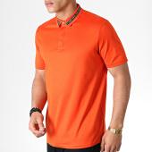/achat-polos-manches-courtes/hugo-by-hugo-boss-polo-manches-courtes-reverse-logo-divorno-50410877-orange-182906.html
