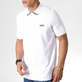 /achat-polos-manches-courtes/hugo-by-hugo-boss-polo-manches-courtes-reverse-logo-dyler-50410892-blanc-noir-182917.html