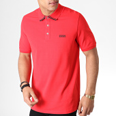 /achat-polos-manches-courtes/hugo-by-hugo-boss-polo-manches-courtes-reverse-logo-dyler-50410892-rouge-noir-182919.html