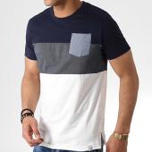 /achat-t-shirts-poche/indicode-jeans-tee-shirt-avec-poche-clemens-blanc-bleu-marine-182908.html