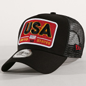 /achat-trucker/new-era-casquette-trucker-patch-usa-noir-182933.html