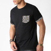 /achat-t-shirts-poche/brave-soul-tee-shirt-poche-leopard-felin-noir-183199.html