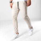 /achat-pantalons-carreaux/classic-series-pantalon-a-bandes-88039-beige-blanc-183225.html