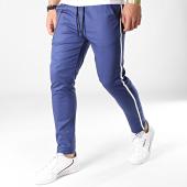 /achat-pantalons-carreaux/classic-series-pantalon-a-bandes-88039-bleu-marine-blanc-183228.html