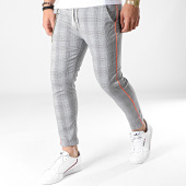 /achat-pantalons-carreaux/classic-series-pantalon-carreaux-91125-noir-blanc-orange-fluo-183229.html