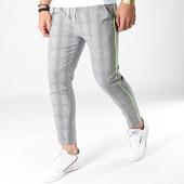 /achat-pantalons-carreaux/classic-series-pantalon-carreaux-91125-noir-blanc-jaune-fluo-183231.html