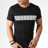 /achat-t-shirts/classic-series-tee-shirt-avec-bandes-knz-01-noir-blanc-183241.html