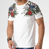/achat-t-shirts/classic-series-tee-shirt-floral-mk-18122-blanc-183246.html