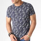 /achat-t-shirts/classic-series-tee-shirt-mk-18125-bleu-marine-ecru-183247.html