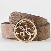 /achat-ceintures/guess-ceinture-femme-bw7227vin35-marron-dore-182984.html