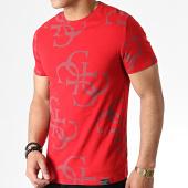 /achat-t-shirts/guess-tee-shirt-m93i17j1300-rouge-mauve-183011.html