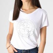 /achat-t-shirts/guess-tee-shirt-col-v-femme-w93i76k68d0-blanc-183027.html