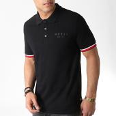 /achat-polos-manches-courtes/guess-polo-manches-courtes-m93p43k8510-noir-blanc-rouge-183052.html