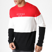 /achat-pulls/guess-pull-m93r23z2eo0-rouge-blanc-noir-183077.html
