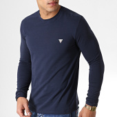 /achat-t-shirts-manches-longues/guess-tee-shirt-manches-longues-m93i53j1300-bleu-marine-183107.html